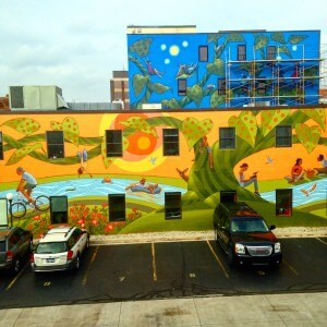 Oxford Marks Completion of Ann Arbor's Largest Mural