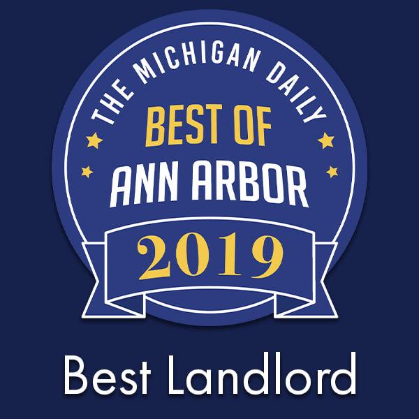 Ann Arbor's best residential landlord