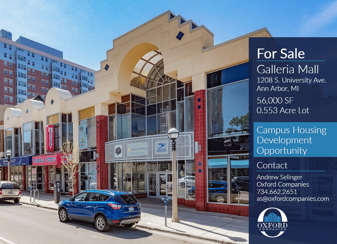 Galleria Mall for lease